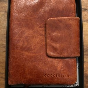 Brand New Coccinelle Italian Leather Wallet